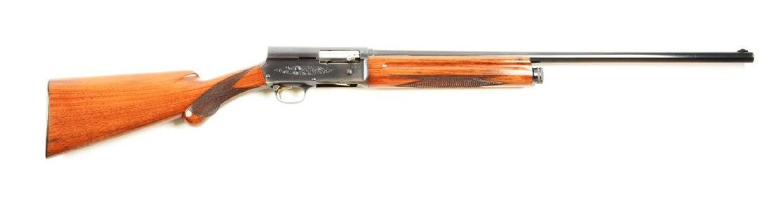 (C) Browning Sweet Sixteen Semi-Automatic Shotgun.