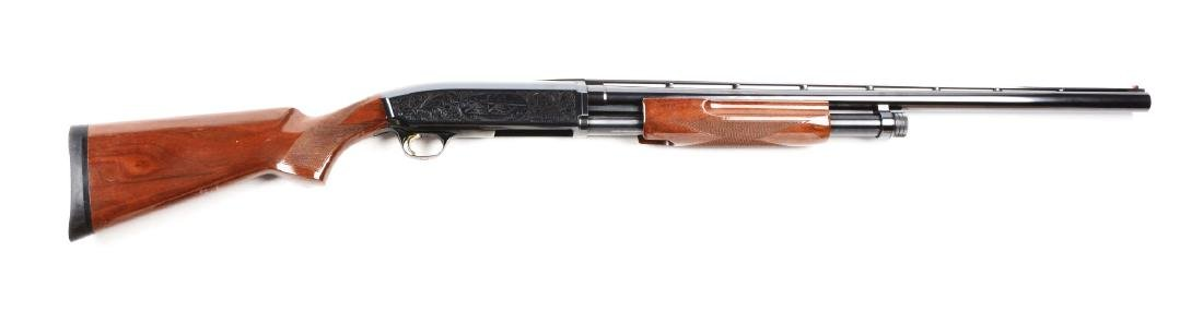 (M) Browning Field Model 10 Gauge Slide Action Shotgun.