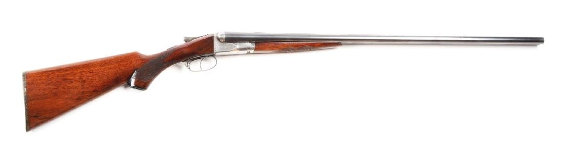(C) Fox Sterlingwoth 20 Bore SxS Boxlock Shotgun.