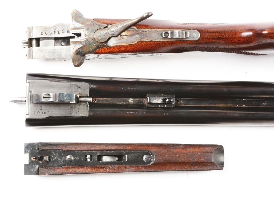 (C) L.C. Smith Ideal Grade Side Lock Shotgun. - 5