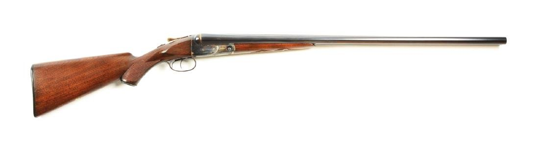 (C) Parker VH Grade Box Lock Side by Side Shotgun.