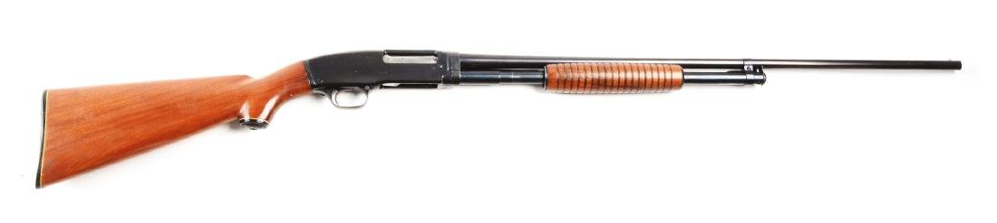 (C) Winchester Model 42 Slide Action Shotgun (1942).