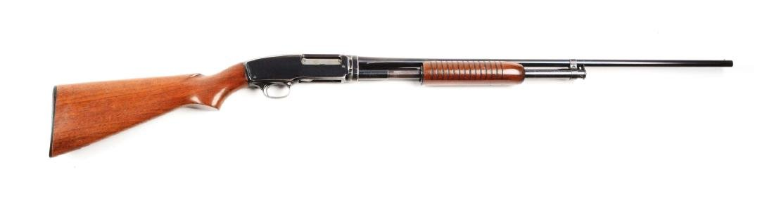 (C) Winchester Model 42 Slide Acion Shotgun (1957).