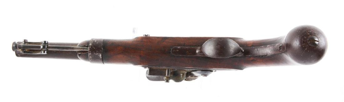 (A) U.S. Model 1836 Single Shot Flintlock Martial - 4