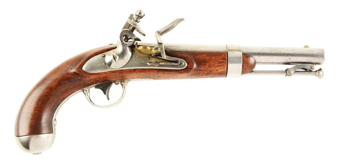 (A) U.S. Model 1836 Flintlock Single Shot Martial