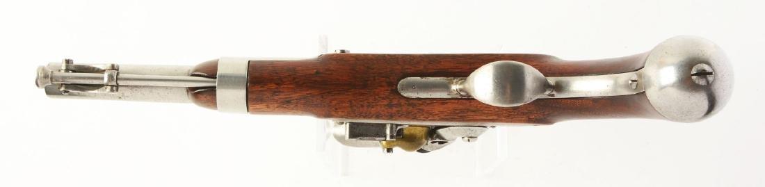 (A) U.S. Model 1836 Flintlock Single Shot Martial - 4