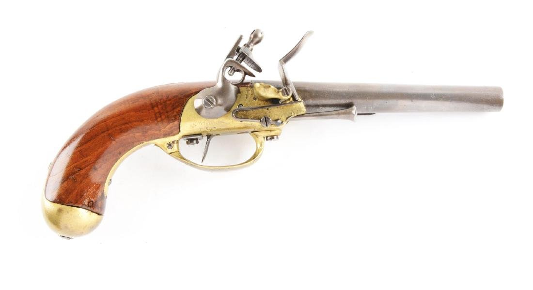 (A) French Model 1777 Charleville Flintlock Single Shot