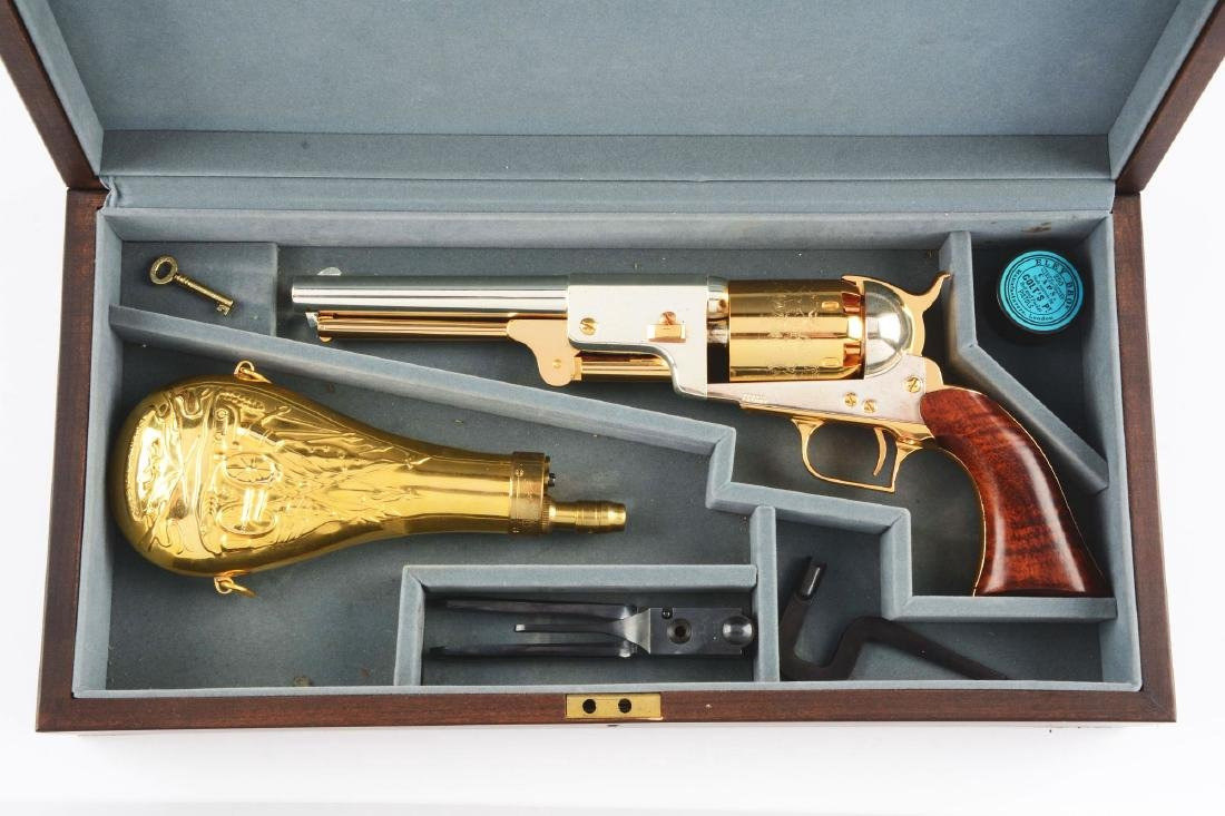 (A) Marine Corp Colt Dragoon Cased Commemorative