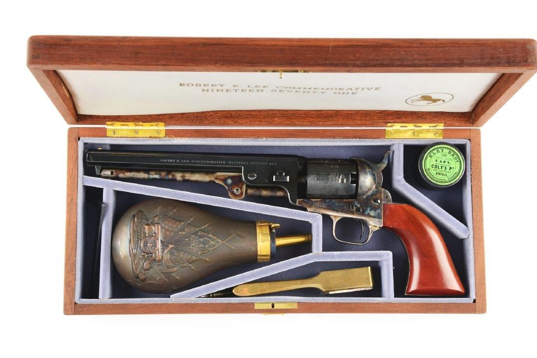 (A) Boxed & Cased Colt Robert E. Lee Commemorative 1851