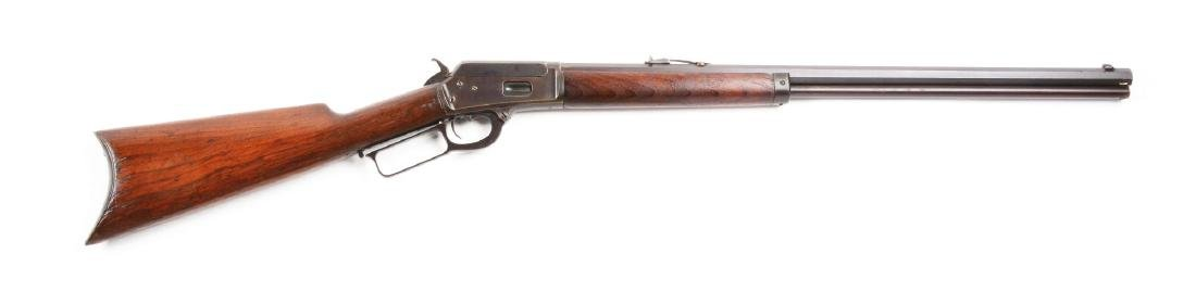 (A) Marlin Model 1889 Lever Action Rifle.