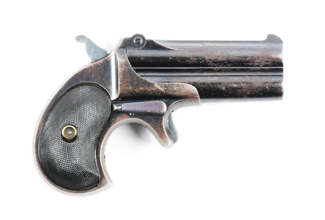 (A) Remington Elliots Over and Under Deringer.