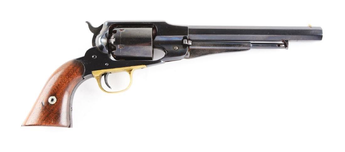 (A) Remington New Model Army 1858 Percussion Revolver.