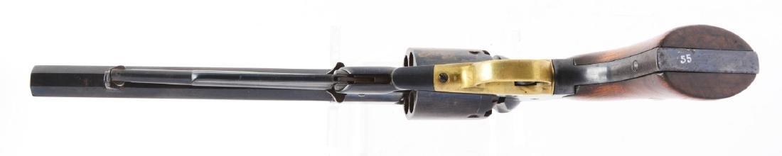 (A) Remington New Model Army 1858 Percussion Revolver. - 4