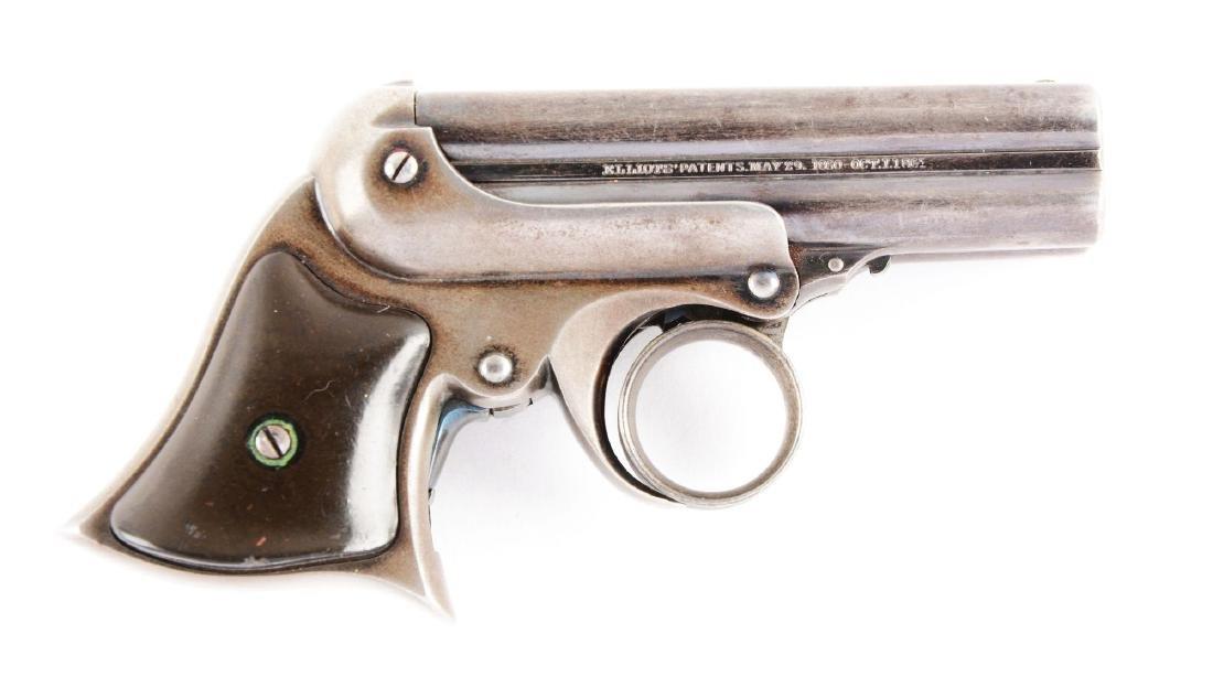 (A) Remington Elliott Ring Trigger Deringer.