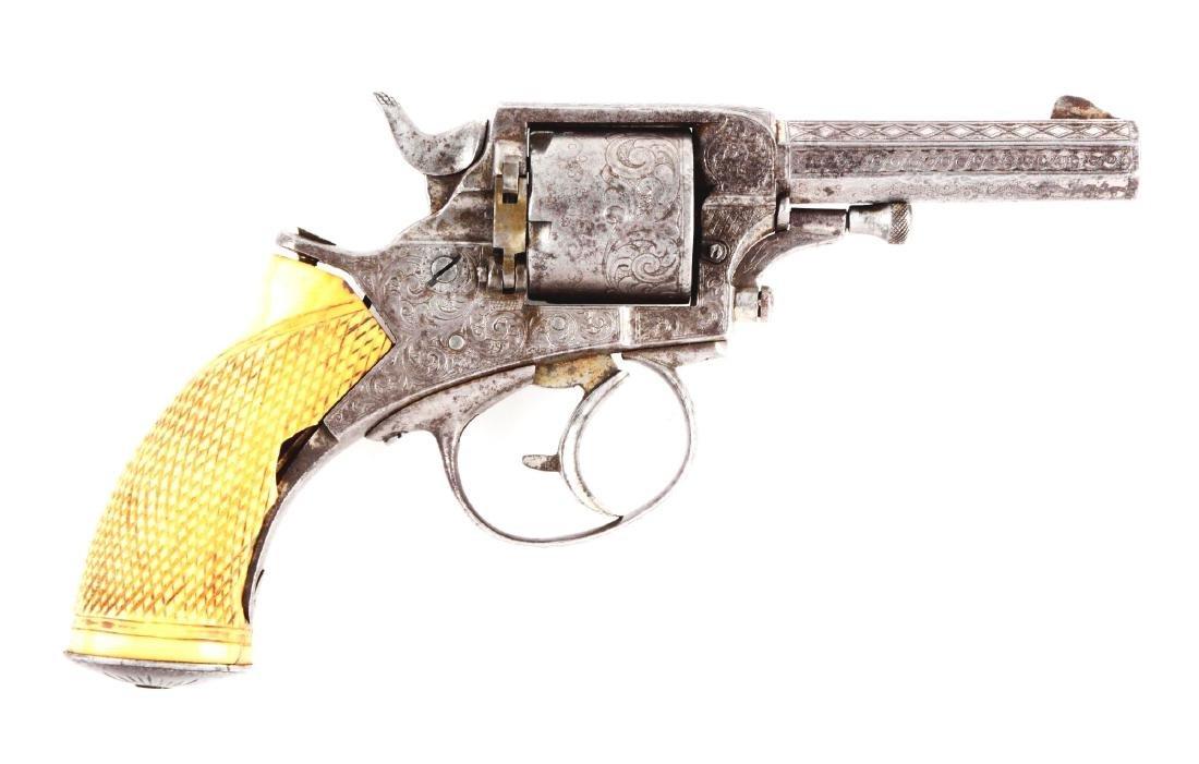 (A) Antique Engraved Tranter Double Action Revolver