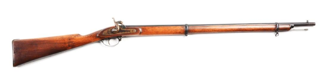 "(A) Belgian ""Little Enfield"" Percusion Child's Musket."