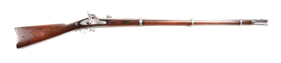 (A) Special Model 1861 Contract Rifle Musket by Colt.