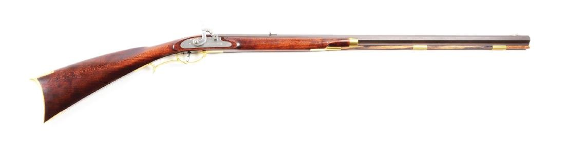 (A) Contemporary Percussion Half Stock Rifle by Dennis