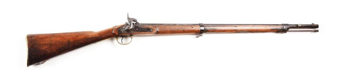 (A) Belgian Enfield Style Rifled Musketoon.