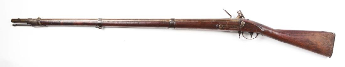 (A) U.S. Model 1816 Flintlock Musket by Evans, Valley - 2