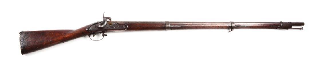 (A) U.S. Model 1816 Type III Percussion Conversion