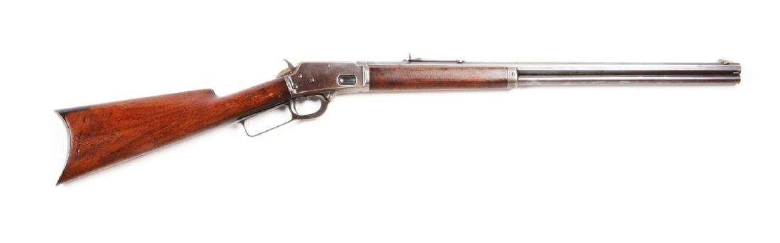 (A) Marlin Model 1888 Lever Action Rifle.