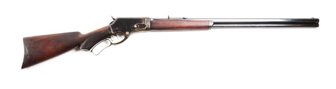 (A) Deluxe Marlin Model 1881 Lever Action Rifle.