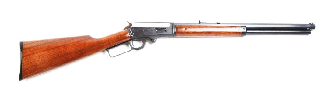 (A) Custom Marlin Model 1893 Lever Action Short Rifle.