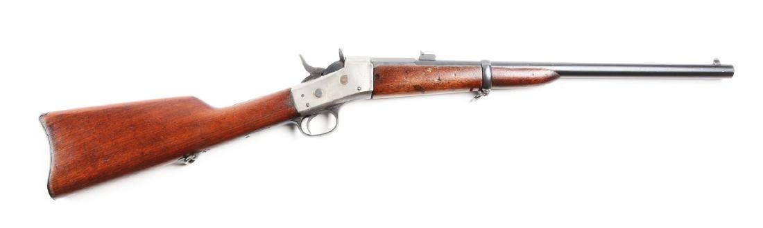 (A) Cut Down Argentine Remington Rolling Block Rifle.