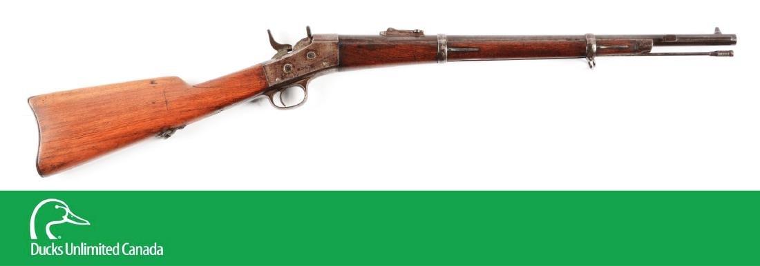 (A^) Remington Rolling Block Egyptian Muskatoon.