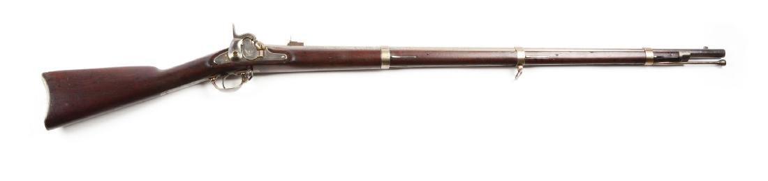 (A) U.S. Model 1855 Percussion Rifle with Maynard Tape