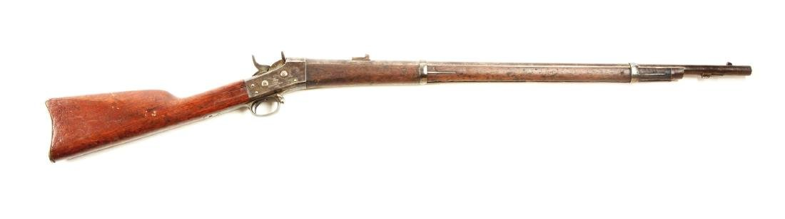 (A) U.S. Navy 1870 Springfield Rolling Block Rifle.