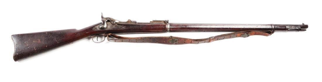 (A) U.S. Springfield Model 1884 Trapdoor Breechloading