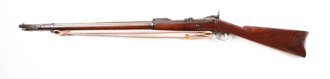(A) Springfield Model 1884 Trapdoor Rifle with Cleaning - 2