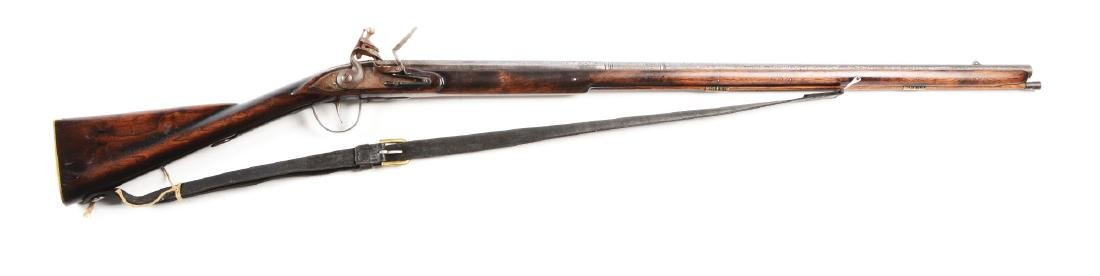 (A) Contemporary Flint Lock Trade Musket.
