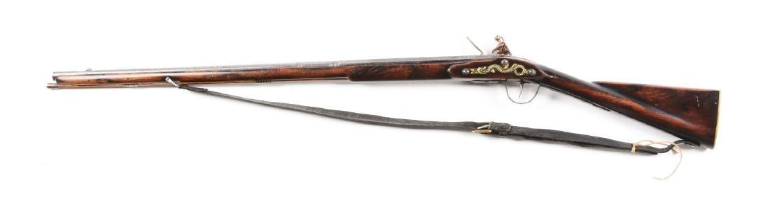 (A) Contemporary Flint Lock Trade Musket. - 2