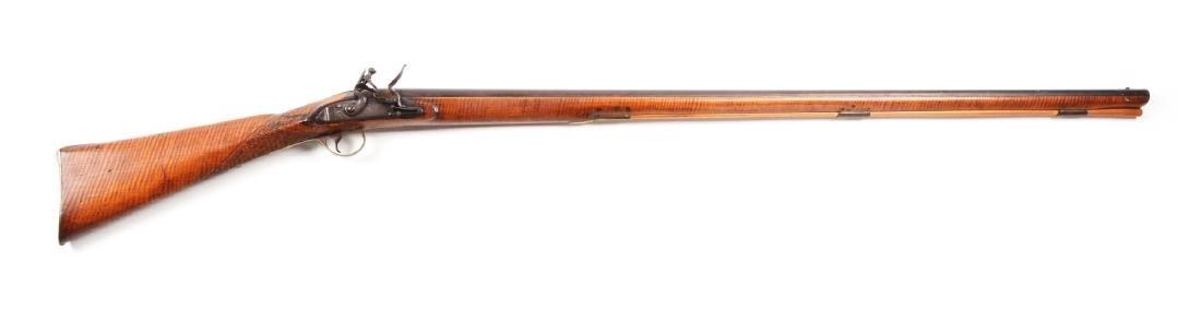 (A) Fullstock Flintlock Rifle.