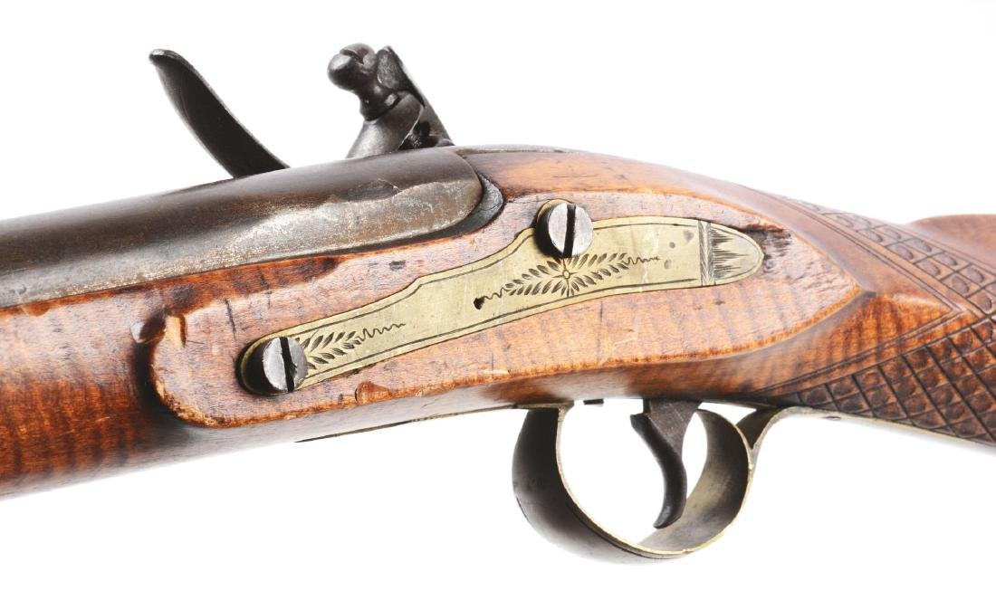 (A) Fullstock Flintlock Rifle. - 6
