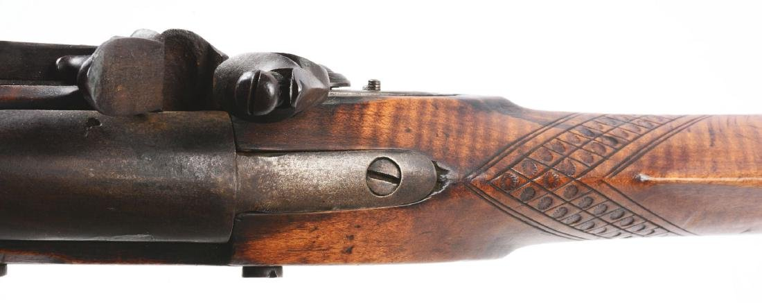 (A) Fullstock Flintlock Rifle. - 7