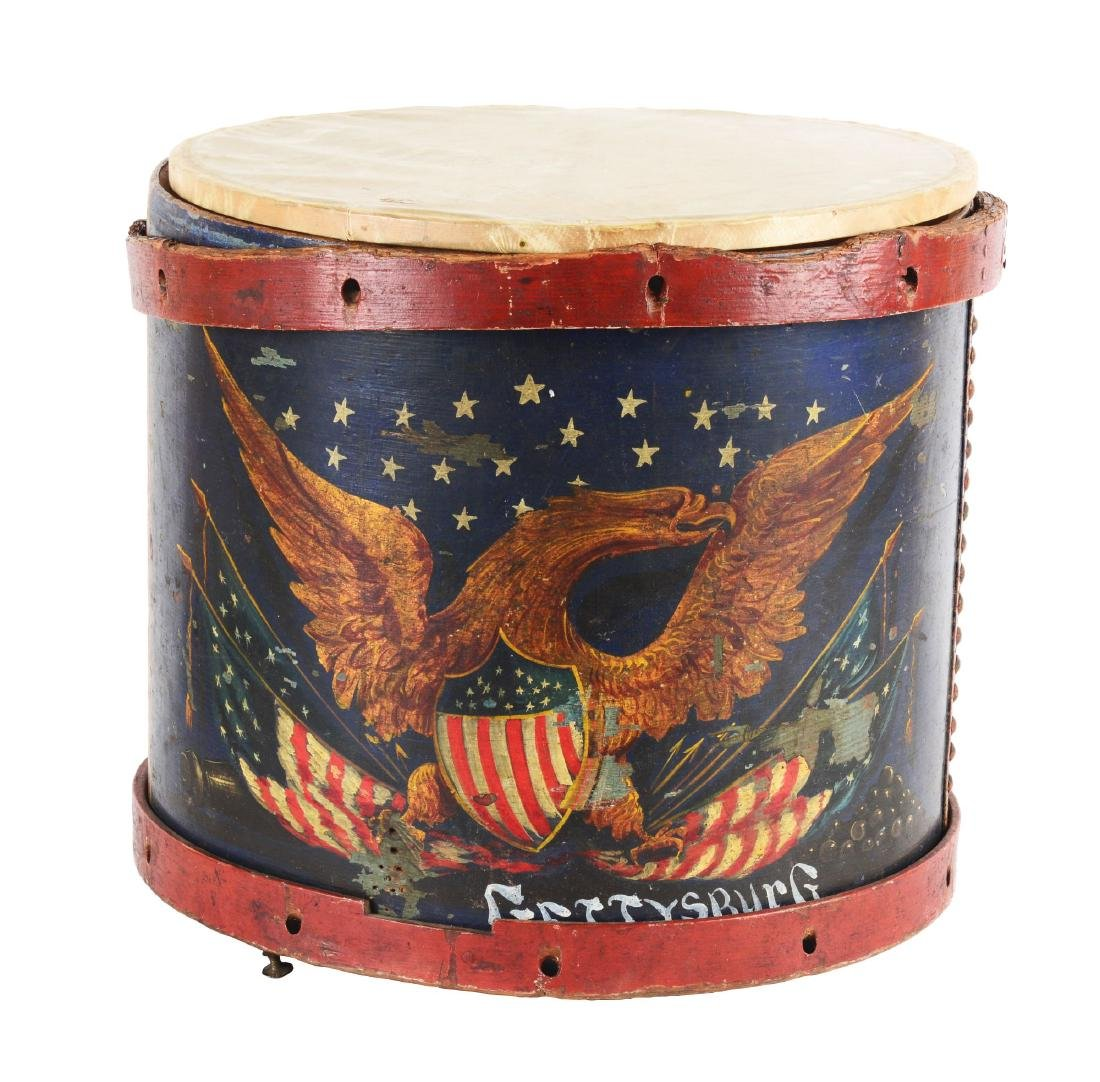 Civil War Period American Drum.