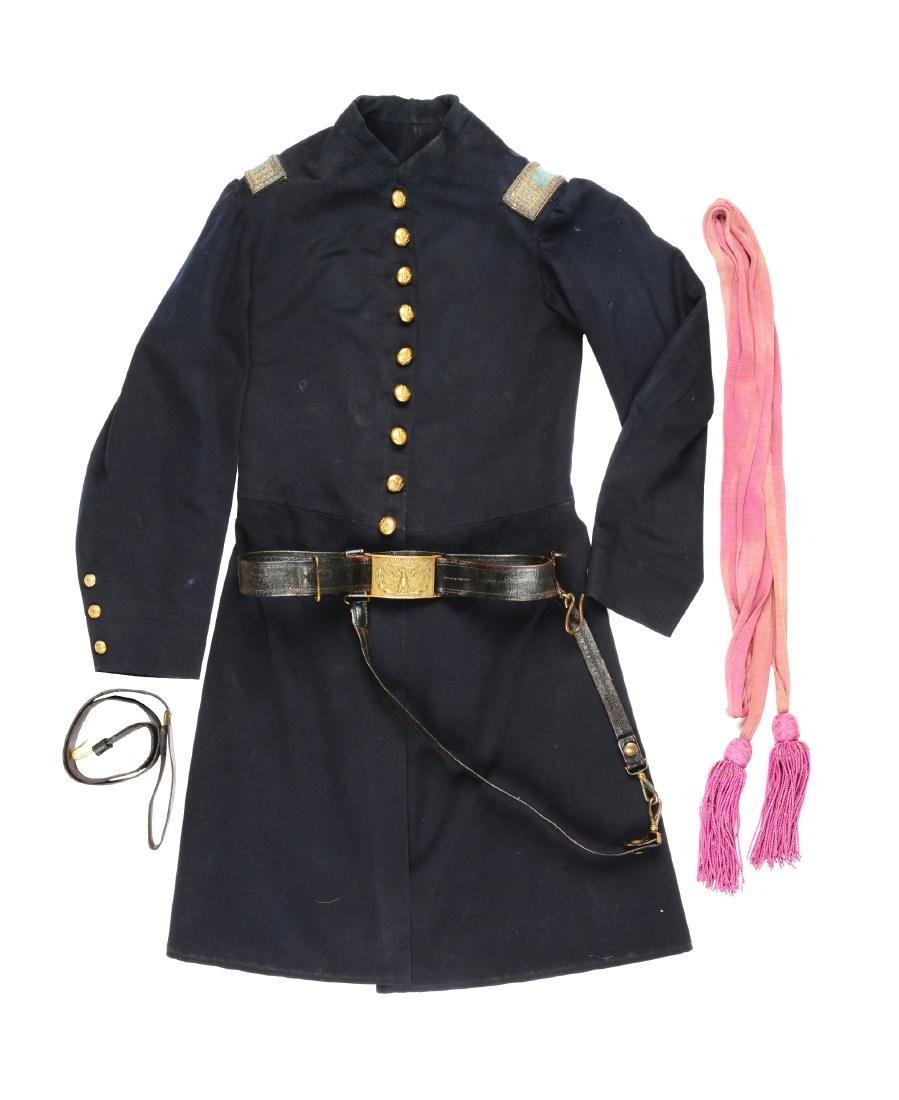 Union Infantry Captain's Frock Coat, 1851 Officer's