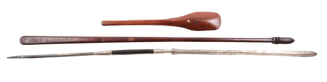 Lot of 3: African Weapons.
