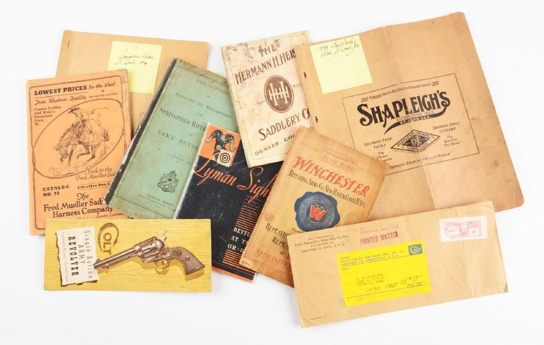 Huge Lot of Vintage Firearms Catalogs (Winchester, Colt - 2