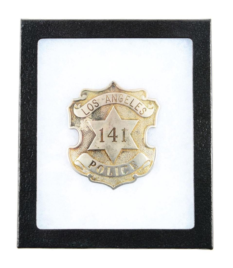 Los Angeles Police Department Badge.
