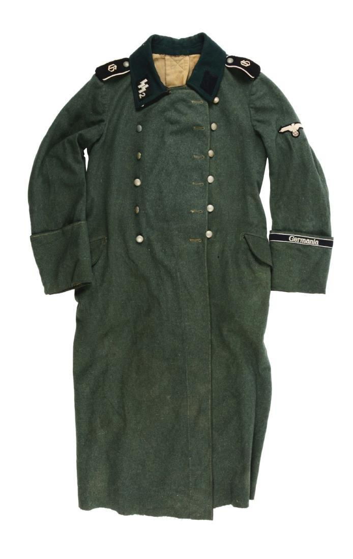 Nazi Pre-War SS Germania Overcoat.