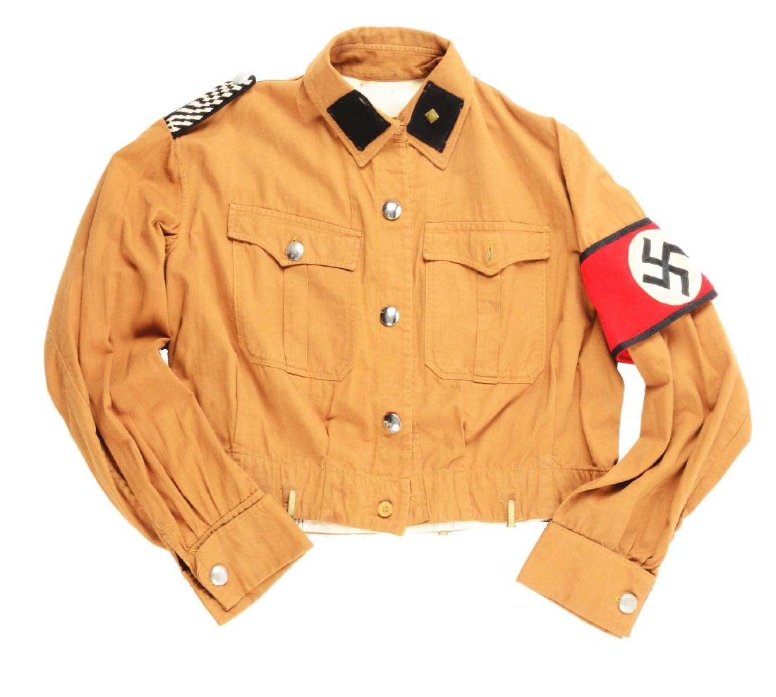 26- Early SS Brownshirt Tunic