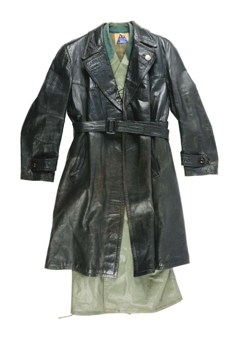 Lot of 2: German World War II Overcoats.