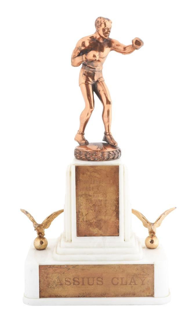 Cassius Clay Louisville Golden Gloves & WAVE TV Future