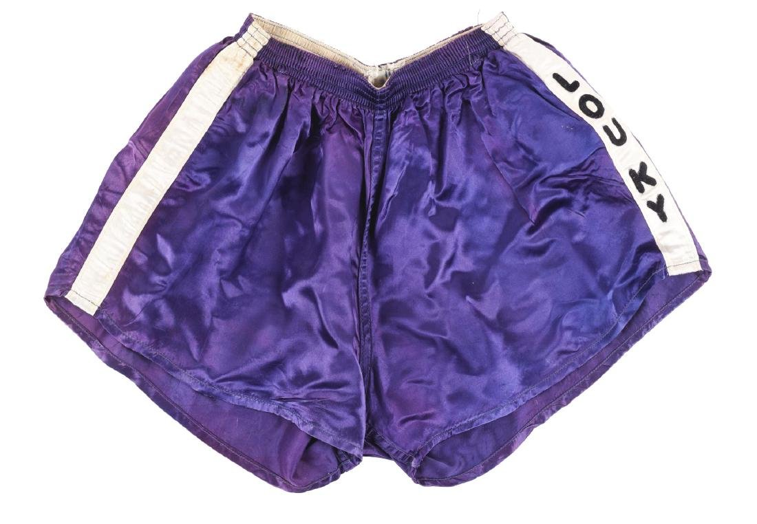 Cassius Clay Worn Training Trunks Earliest Known.
