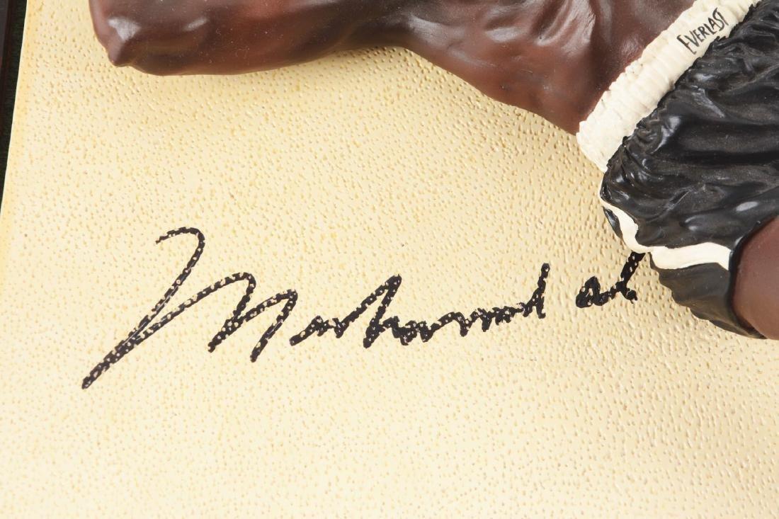 Muhammad Ali and Sonny Liston Statue Set. - 2